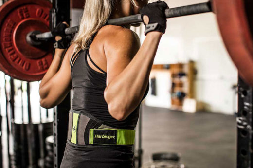 Harbinger-Womens-FlexFit-Contour-Belt-2
