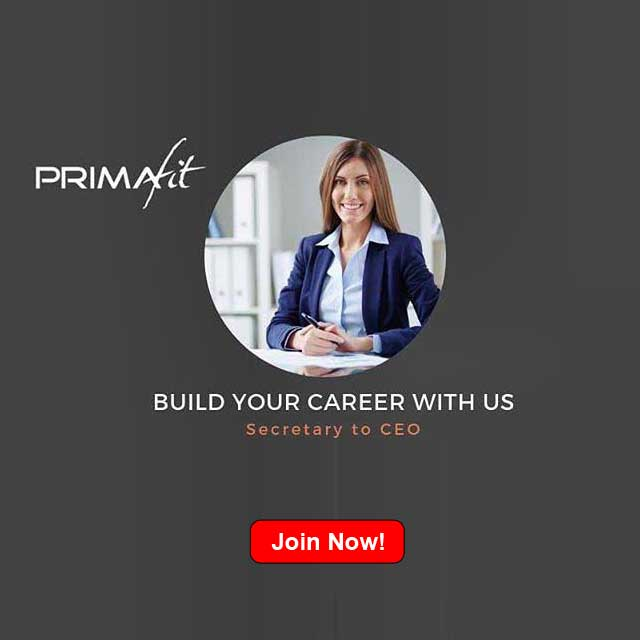 primafit career join now