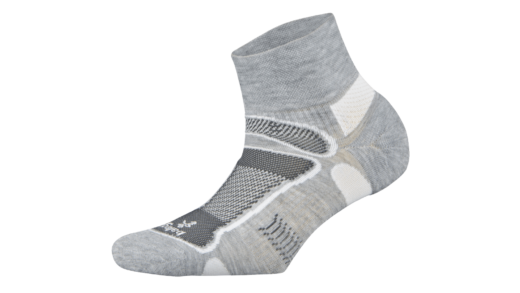 Balega – Ultralight Quarter Grey White