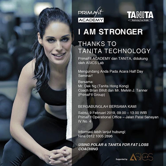 Body Fat bersama Tanita