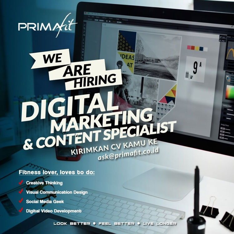we are hiring digital marketing and content specialist